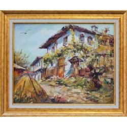 Къща от Боженци - картина от Любомир ДОЙЧЕВ