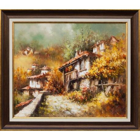 Пейзаж от Родопите - картина от Лилия ПЕТКОВА