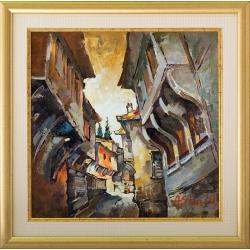 Старият град - картина от Андрей СТАНИШЕВ