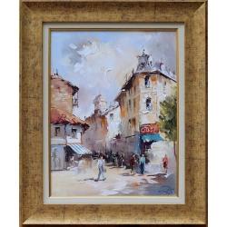 Градски пейзаж II - картина от Димитър ПЕТКОВ