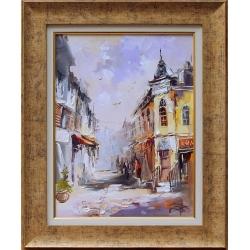 Градски пейзаж III - картина от Димитър ПЕТКОВ