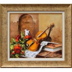 Натюрморт с цигулка - картина от Лилия ПЕТКОВА