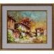 Стари къщи II - картина от Лилия ПЕТКОВА