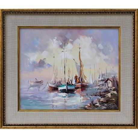 Лодки - картина от Димитър ПЕТКОВ