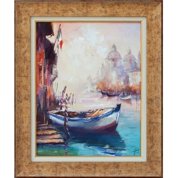 Вeнециански мотив 2- картина от Димитър ПЕТКОВ