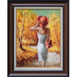 Есенна разходка - картина от Лилия ПЕТКОВА
