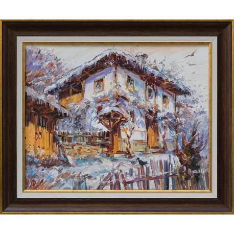 Зима в Боженци - картина от ДОЙЧЕВ