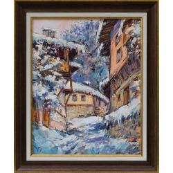 Зима в Родопите - картина от ДОЙЧЕВ