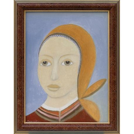 Българка- картина от БОГОМИЛ