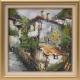 Родопски пейзаж - картина от Даня КЕХАЙОВА