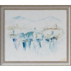 Синя зима - картина от ИВА