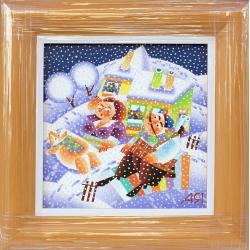 Зима е! - картина от ЯНАКИЕВ
