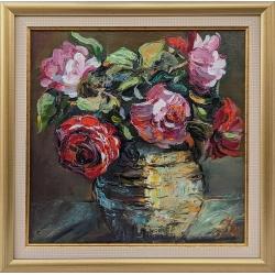 Букет с рози - картина от Даня КЕХАЙОВА