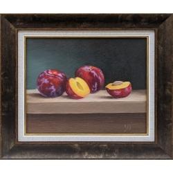 Натюрморт със сливи - картина от ЦВЕТЕЛИНА