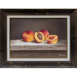 Натюрморт с праскови - картина от ЦВЕТЕЛИНА