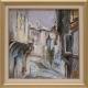 Старинна улица - картина от Даня КЕХАЙОВА