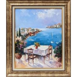 Морски изглед - картина от Димитър ПЕТКОВ