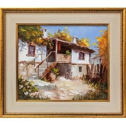 Летен следобед - картина от Димитър ПЕТКОВ