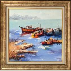 Морско утро - картина от Димитър ПЕТКОВ