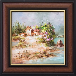 Пролетна импресия - картина от Лилия ПЕТКОВА