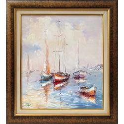 Морска идилия- картина от Димитър ПЕТКОВ