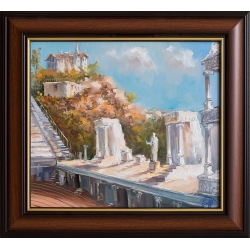 Античен театър, Пловдив - картина от Димитър ПЕТКОВ