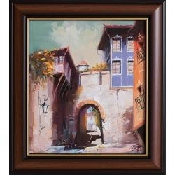 Хисар Капия, Пловдив - картина от Димитър ПЕТКОВ
