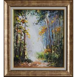 Пътека в гората - картина от Димитър ПЕТКОВ