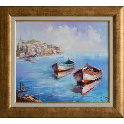 Морски пейзаж- картина от Димитър ПЕТКОВ