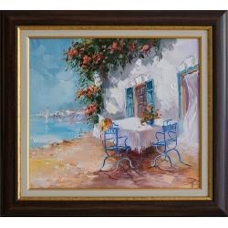 Романтичен спомен- картина от Димитър ПЕТКОВ