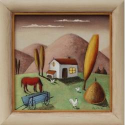 Селска идилия- картина от КОСТА