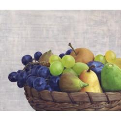 Натюрморт с плодове- репродукция на картина от Бойко Колев