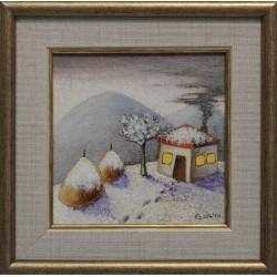 Зимен пейзаж- картина от КОСТА