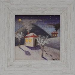 Зимна вечер- картина от КОСТА