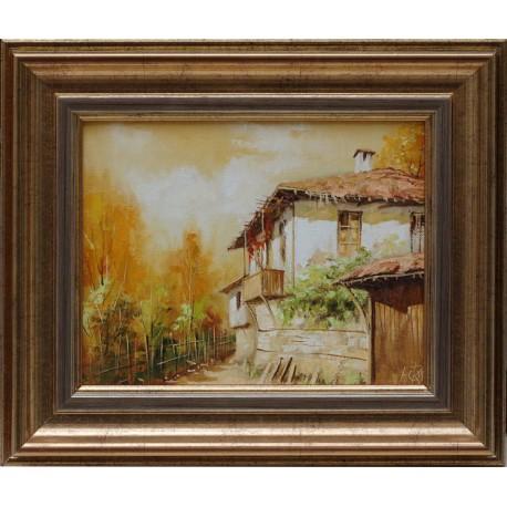 Есен- картина от Кръстев