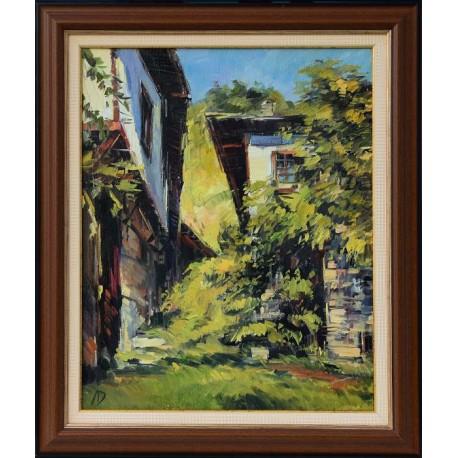 Пейзаж от Лещен II- картина от Дойчев