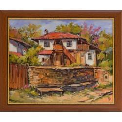Пейзаж от Копривщица- картина от ДОЙЧЕВ
