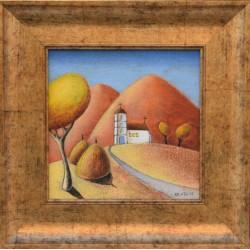 Малката църква - картина от КОСТА