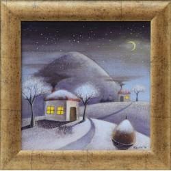 Виолетова зима - картина от КОСТА