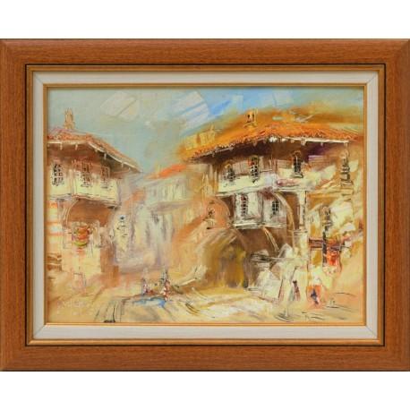Стария Пловдив - картина от ВЕЛИЧКОВ