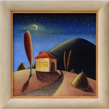 Нощно сияние - картина от КОСТА