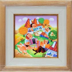 Златна есен - картина от ЯНАКИЕВ