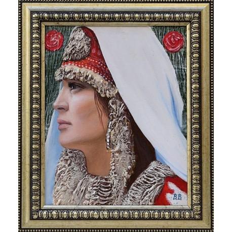 Замечтаност - картина от Вени ВАСИЛЕВА