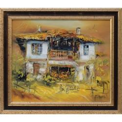 Старата къща - картина от Павел МИТКОВ