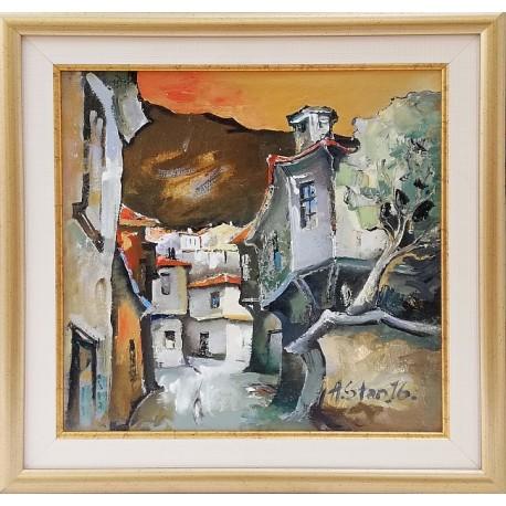 Родопски пейзаж - картина от Андрей СТАНИШЕВ