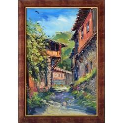 Улица в Ковачевица - картина от ДОЙЧЕВ