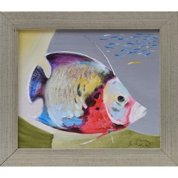 Риба I - картина от Милен МАРИНОВ