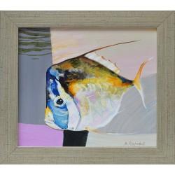 Риба II - картина от Милен МАРИНОВ
