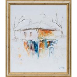 Импресия в бяло - картина от ИВА