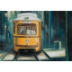Жълтият трамвай - картина от Никола ЙОНКОВ